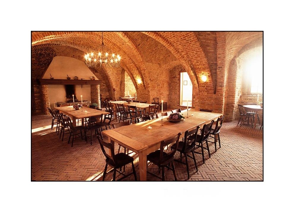 Burg Boetzelaer, Gewölbesaal